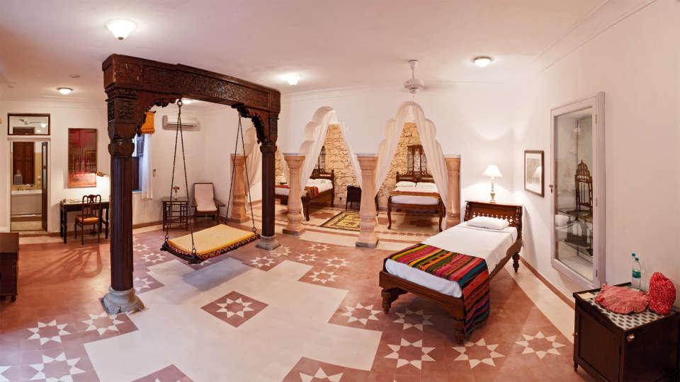 Neemrana Fort-Palace - 15th Century, Delhi-Jaipur Highway Neemrana Sheela Mahal Neemrana Fort-Palace Alwar Rajasthan