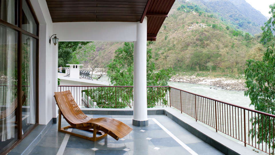 The Glasshouse on The Ganges - 21st Century, Rishikesh Rishikesh The Glasshouse on the Ganges above Rishikesh Uttarakhand 1