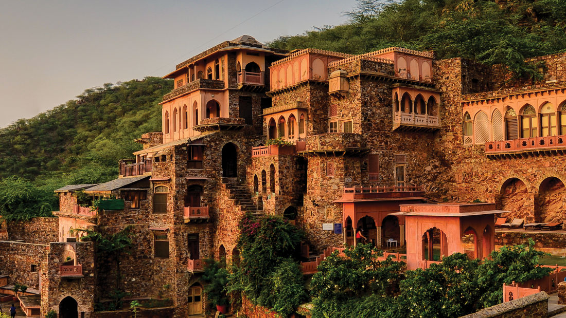Neemrana Fort-Palace - 15th Century, Delhi-Jaipur Highway Neemrana Wing VIII Neemrana Fort-Palace Alwar Rajasthan