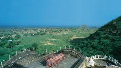 Neemrana Fort-Palace - 15th Century, Delhi-Jaipur Highway Neemrana Conference Neemrana Fort-Palace Alwar Rajasthan 2