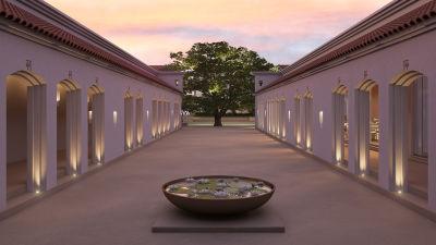 Courtyard, Marasa Sarovar Premiere Bodhgaya, Hotels in Bodhgaya