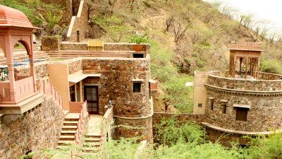 Neemrana Fort-Palace - 15th Century, Delhi-Jaipur Highway Neemrana Wing VI Neemrana Fort-Palace Alwar Rajasthan