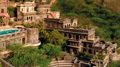 Neemrana Fort-Palace - 15th Century, Delhi-Jaipur Highway Neemrana Wing V Neemrana Fort-Palace Alwar Rajasthan