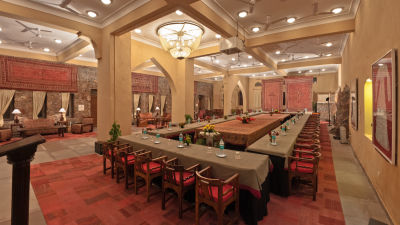 Conference Neemrana Fort-Palace Hotel and Resort in Alwar near Delhi