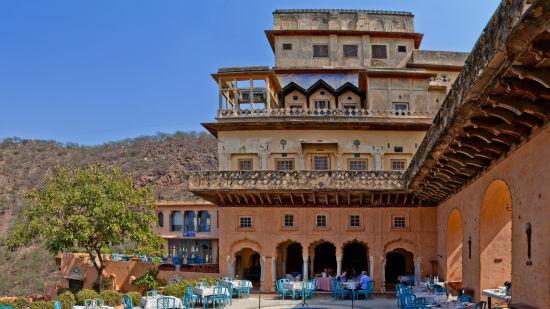 Neemrana Fort-Palace - 15th Century, Delhi-Jaipur Highway Neemrana Wing III Neemrana Fort-Palace Alwar Rajasthan