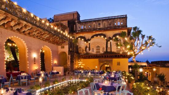Neemrana Fort-Palace - 15th Century, Delhi-Jaipur Highway Neemrana Wing II Neemrana Fort-Palace Alwar Rajasthan