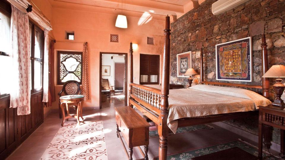 Neemrana Fort-Palace - 15th Century, Delhi-Jaipur Highway Neemrana Adi Mahal Neemrana Fort-Palace Alwar Rajasthan