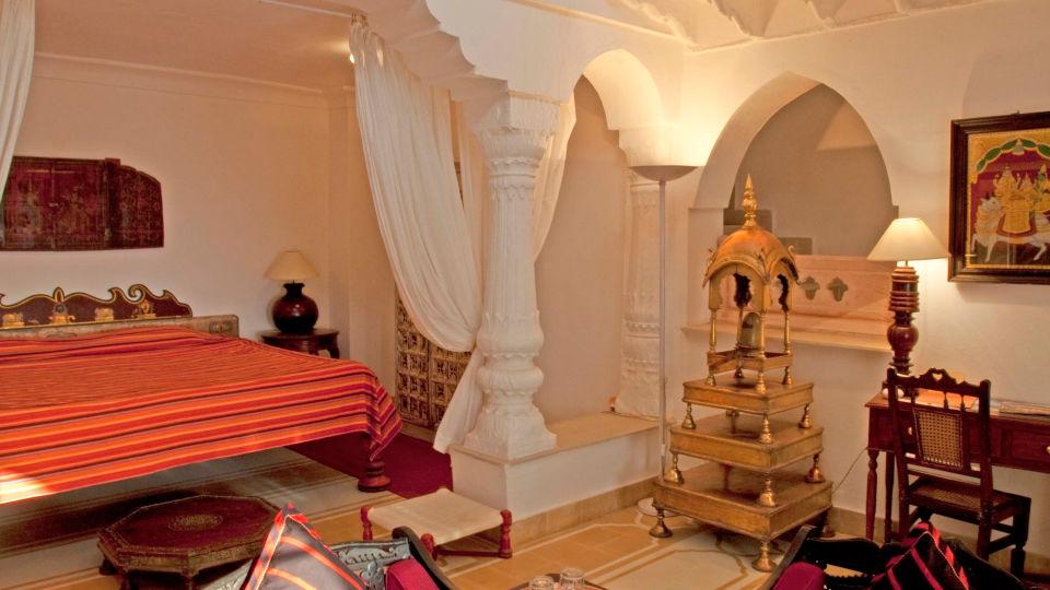 Neemrana Fort-Palace - 15th Century, Delhi-Jaipur Highway Neemrana Aman Vilas Neemrana Fort-Palace Alwar Rajasthan