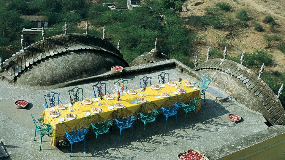 Neemrana Fort-Palace - 15th Century, Delhi-Jaipur Highway Neemrana Conference Neemrana Fort-Palace Alwar Rajasthan 1