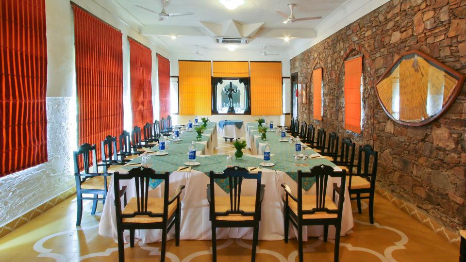 Neemrana Fort-Palace - 15th Century, Delhi-Jaipur Highway Neemrana Conference Neemrana Fort-Palace Alwar Rajasthan
