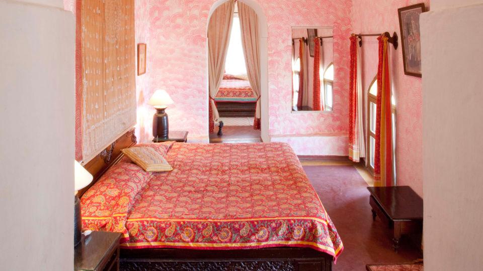 Neemrana Fort-Palace - 15th Century, Delhi-Jaipur Highway Neemrana Jharokha Mahal Neemrana Fort-Palace Alwar Rajasthan