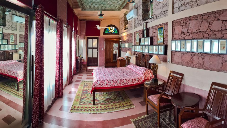 Neemrana Fort-Palace - 15th Century, Delhi-Jaipur Highway Neemrana Sutra Mahal Neemrana Fort-Palace Alwar Rajasthan