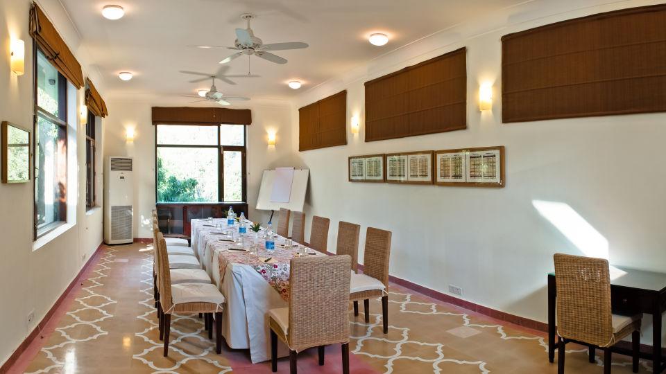 Conference The Glasshouse on the Ganges above Rishikesh Uttarakhand 1, luxury hotel in rishikesh