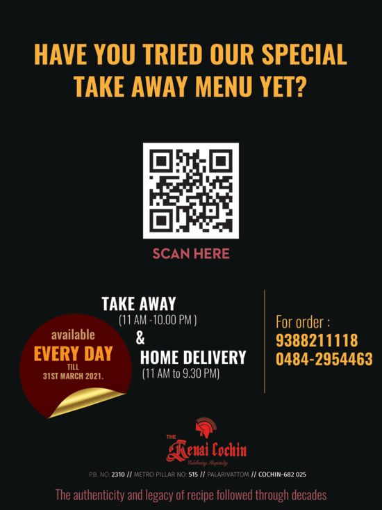 Takeaway QR- home delivery