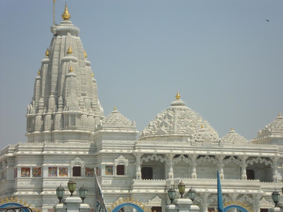 Iskcon Temple  Vrindavan_ Nidhivan Sarovar Portico Vrindavan_ places to visit in Vrindavan 141