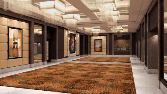 Lobby at Golden Sarovar Portico Amritsar, Hotels in Amritsar 1