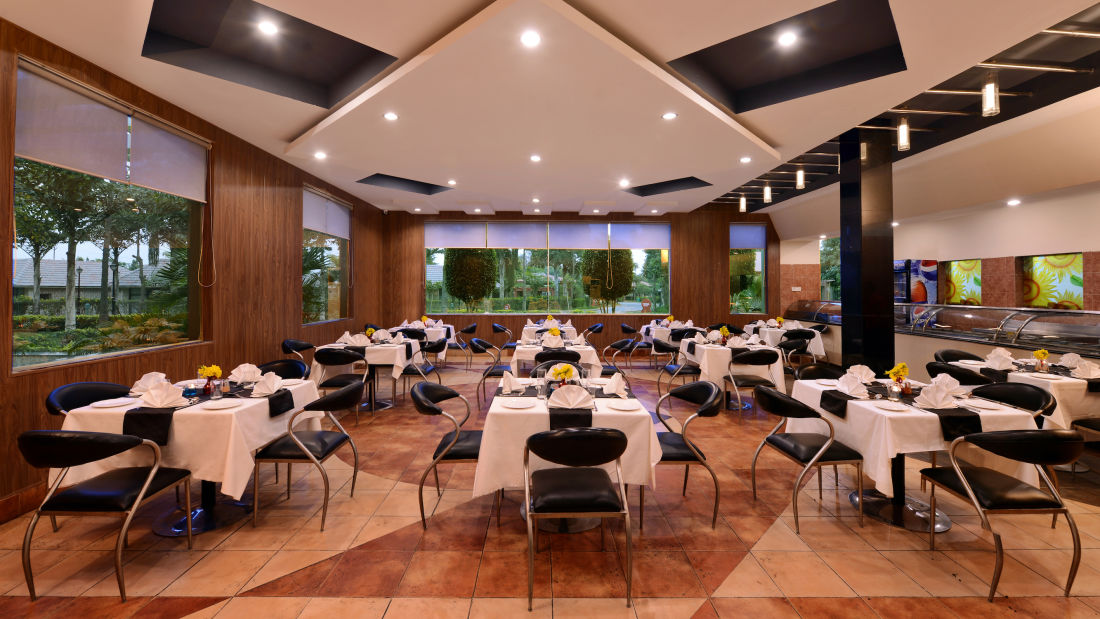 Restaurant in Mathura at Shri Radha Brij Vasundhara Resort Spa Mathura - Resort in Mathura 1