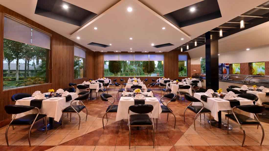 Restaurant in Mathura at Shri Radha Brij Vasundhara Resort Spa Mathura - Resort in Mathura 1