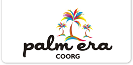 Palm Era Cottages, Coorg Coorg logo palm era cottages coorg resort