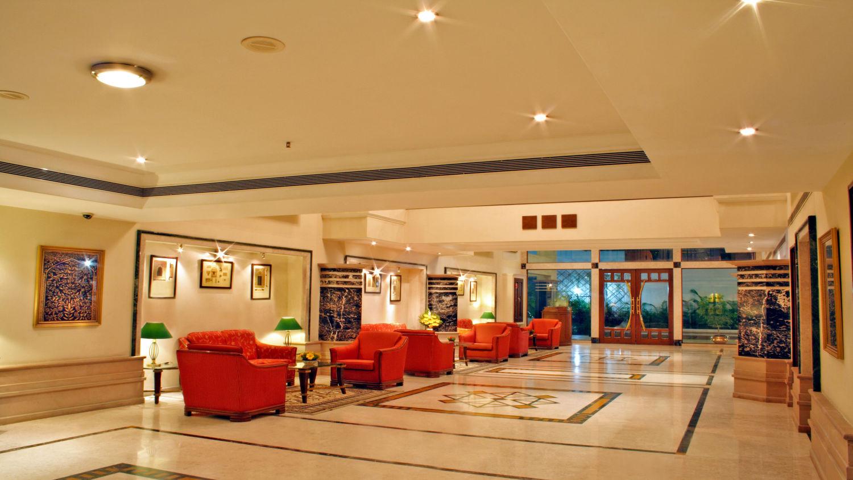 Lobby at Aditya Park Hyderabad, best hotels in hyderabad 1