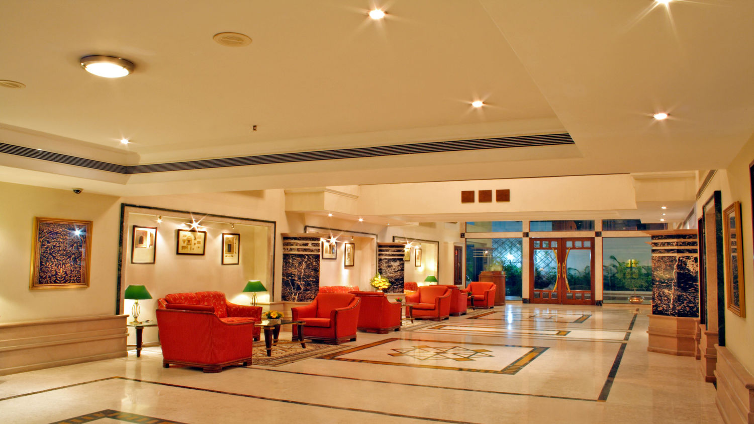 Lobby at Aditya Park Hyderabad, best hotels in hyderabad 1