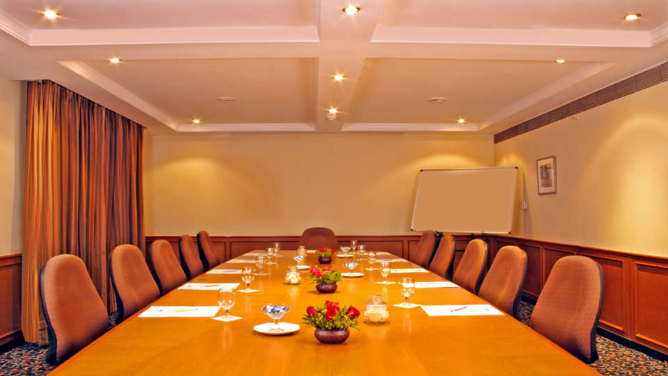 Boardroom at Aditya Park Hyderabad, business hotels in hyderabad