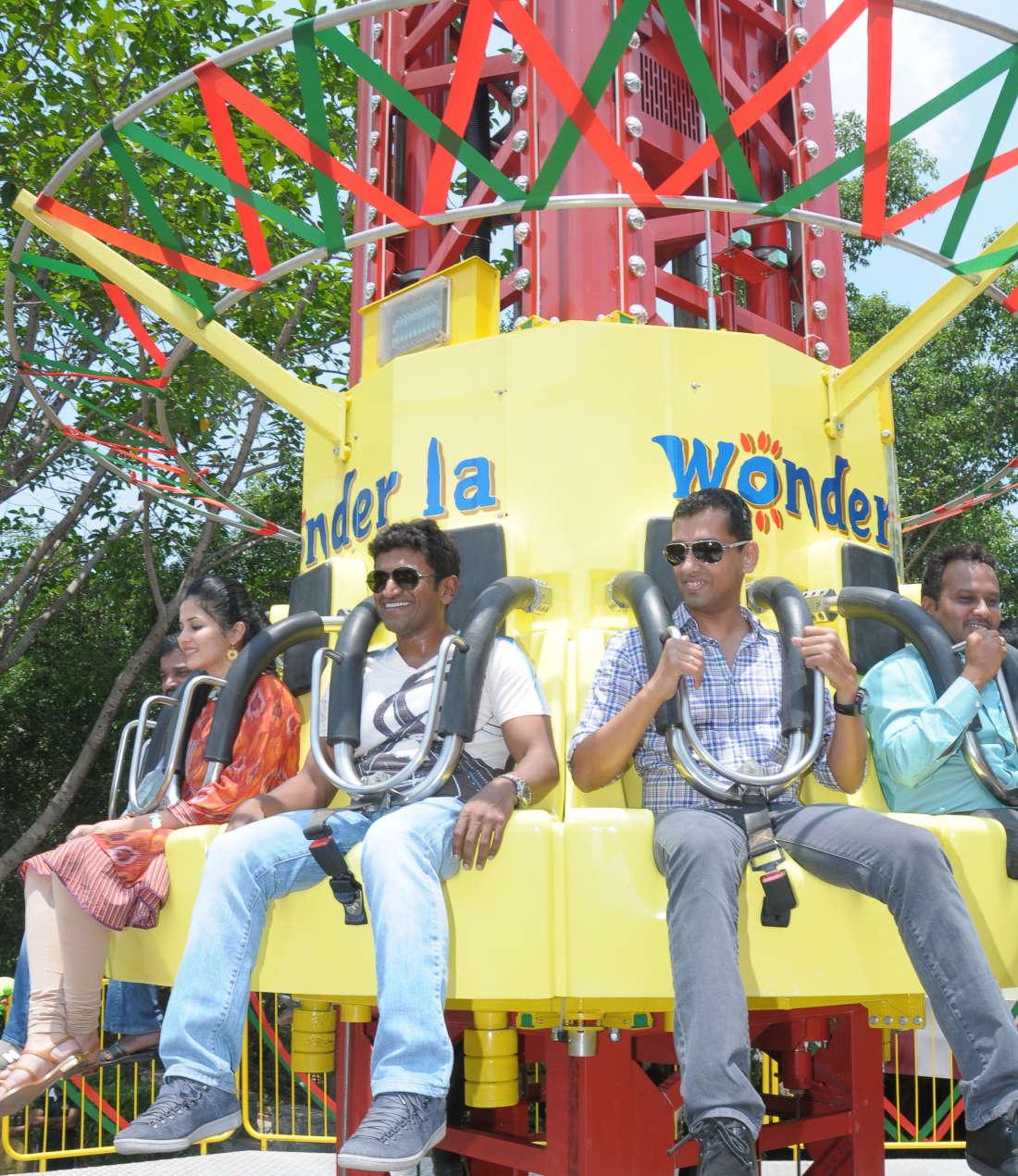 Wonderla Amusement Parks & Resort  Ride inauguration image