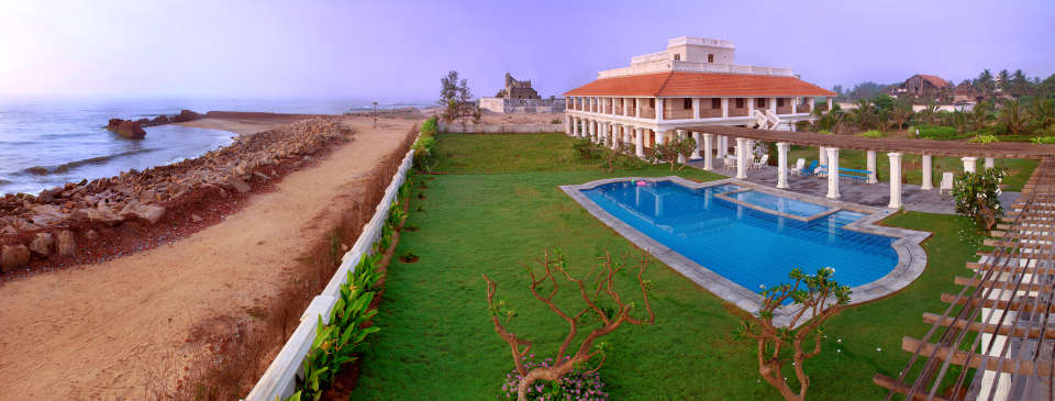 The Bungalow on the Beach - 17th Century, Tranquebar  The Bungalow on the Beach Tranquebar Tamil Nadu