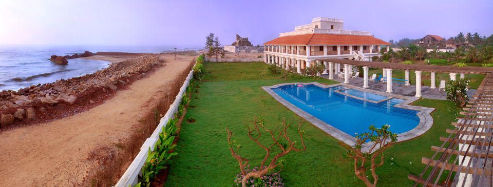 Hotel In Tamil Nadu,The Bungalow on the Beach Tranquebar, Best Hotel in Nagapattinam
