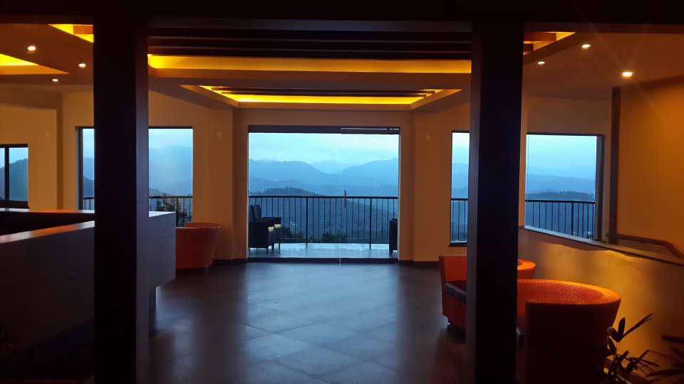 Reception Lobby at Poetree Sarovar Portico Thekkady, resorts in kerala 1