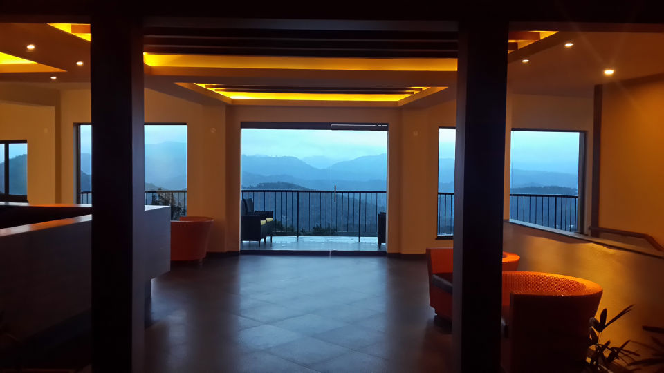 Reception Lobby at Poetree Sarovar Portico Thekkady, resorts in kerala, Kerala Hotels, Resorts in Thekkady 1