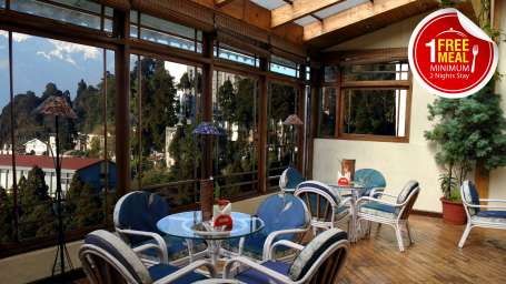 Central Heritage Resort & Spa, Darjeeling Darjeeling heritage free meal