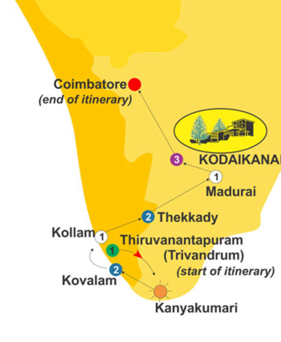 Dream Run for 11 days, The Carlton Hotel , 5 Star hotels in Kodaikanal