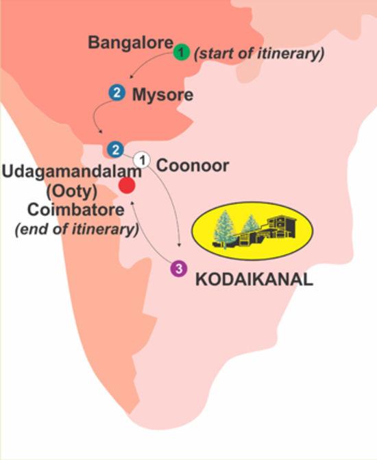 Serene Country for 10 days, The Carlton Hotel , 5 Star hotels in Kodaikanal