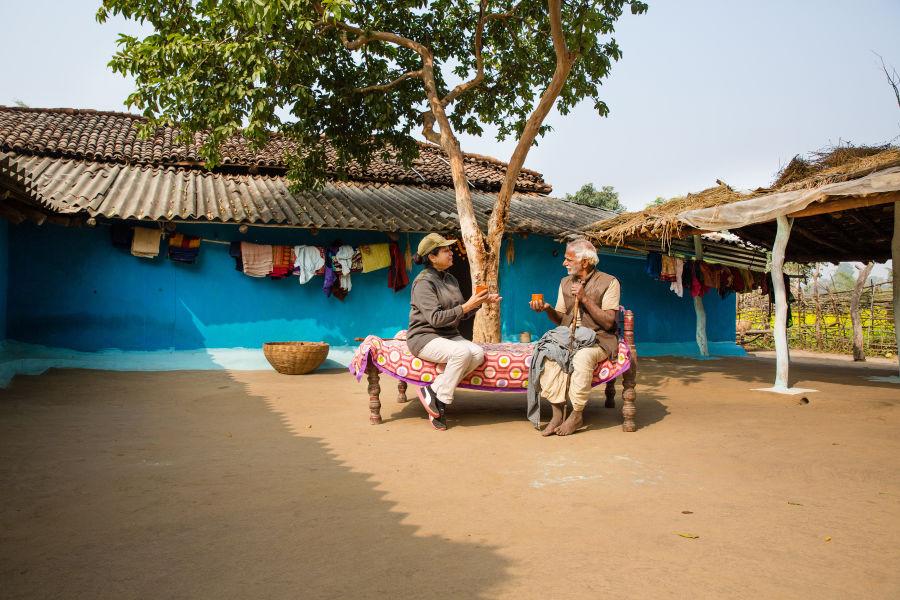 alt-text Wild Tiger Resort in Bandhavgarh, Rosa Bandhavgarh Meadows, Village Walk