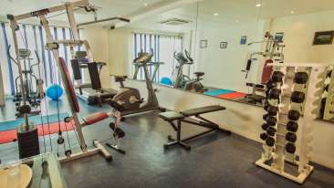 Gym at Grand Hometel Mumbai, hotels near mindspace malad