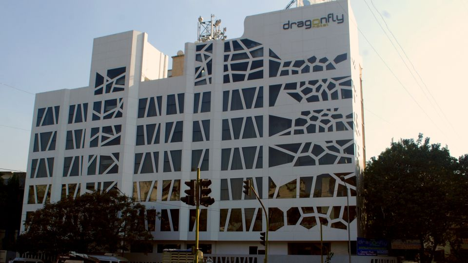 Facade, Dragonfly hotel, Hotels in Andheri East