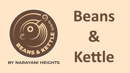 Logo of Beans and Kettle, cafe at Narayani Heights, best cafe in ahmedabad 1