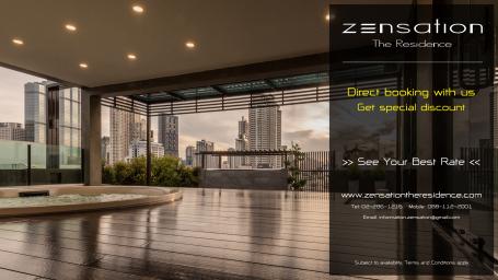 Direct Offer - Zensation The Residence