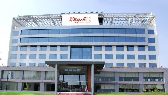 Facade of Hotel Daspalla Hyderabad