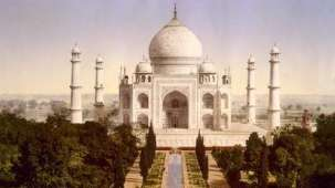 Location Taj Mahal Agra