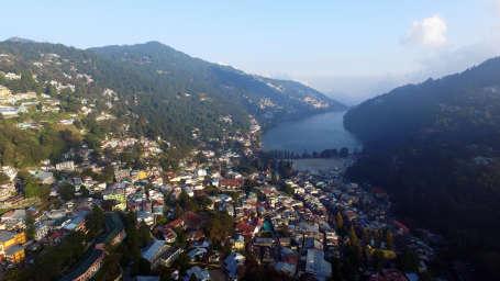 Hotel Himalaya, Nainital Nainital unhide Drone DJI 0015