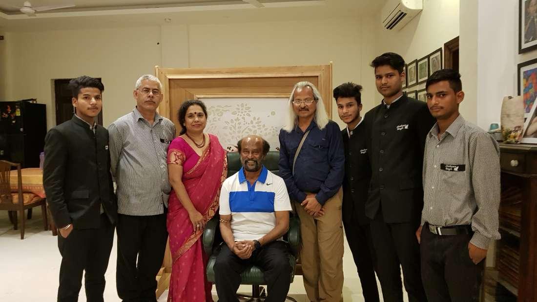 Rajinikanth at Shaheen Bagh Resort Dehradun 7