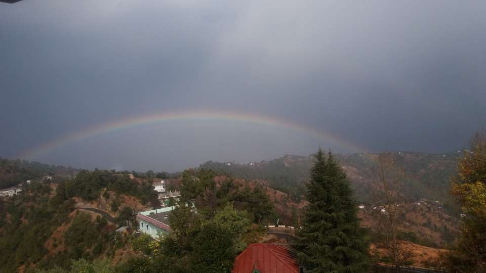 Ojaswi Himalayan Resort, Mukteshwar Nainital Rainbow view Oaswi Himalayan Resort Mukteshwa