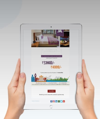 email marketing for hotels are now simplified with Simplotel