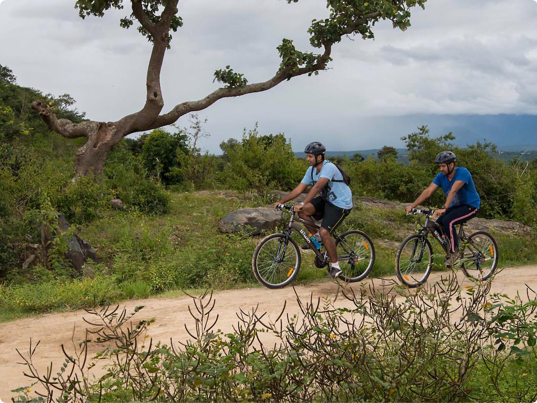 Mountain Bike Trail, The Serai Chikmagalur, Trail Biking in Chikmagalur