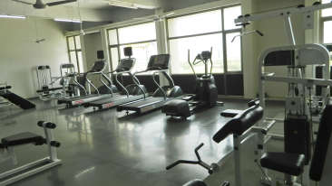 Fitness Center at RS Sarovar Portico, Palampur Hotels