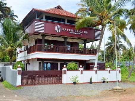 Facade, Sapphire Club Cherai Beach Villa, Cherai Hotel 3