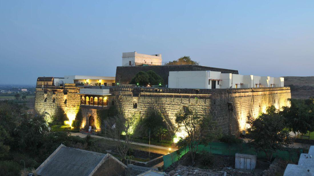 KHIL Mumbai exterior 1 fort jadhavgadh heritage resort hotel pune f47mxl