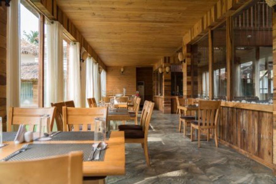 alt-text black lemon restaurant, coral reef resort havelock , hotel in havelock